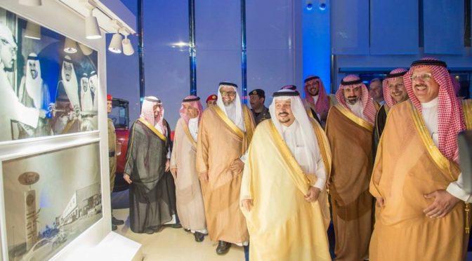 Принц Фейсал бин Бандар открывает выставочный зал автомобилей Ford
