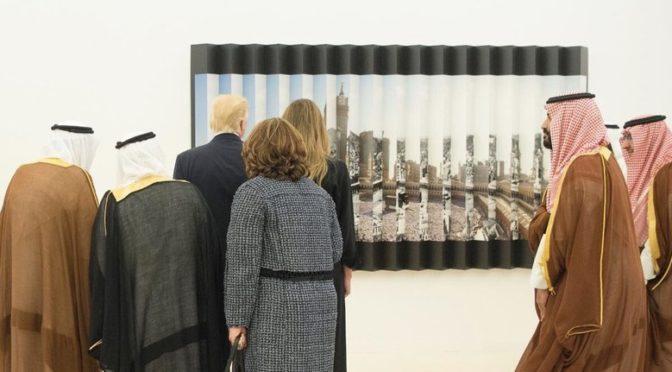 Относительно тайны картины Запретной Мечети в Мекке, что очаровала президента США и его супругу