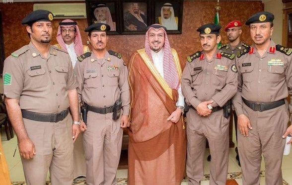 По указу наследного принца губернатор провинции  Касым наградил  офицера и нижних чинов полицейского участка в Абанат