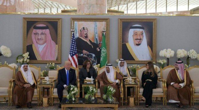 Д.Трамп прибыл в Эр-Рияд и Служитель Двух Святынь встретил его