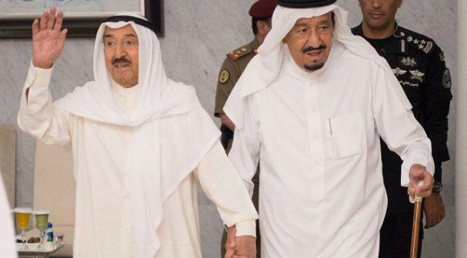 Служитель Двух Святынь провёл переговоры с Эмиром государства Кувейт