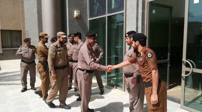 Начальник полиции провинции Асир поздравил полицейских в приграничных округах