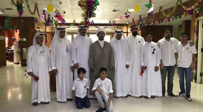 Благотворительные общества округа Катиф разделило с пациентами Центральной больницы Катифа радость праздника Ид аль-Фитр