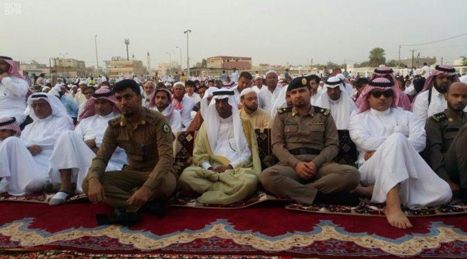 Губернатор округа Сабиа принял поздравления с праздником, посетил больных и шейхов племён