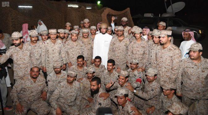 Министр культуры и СМИ встретился с солдатами на южной границе