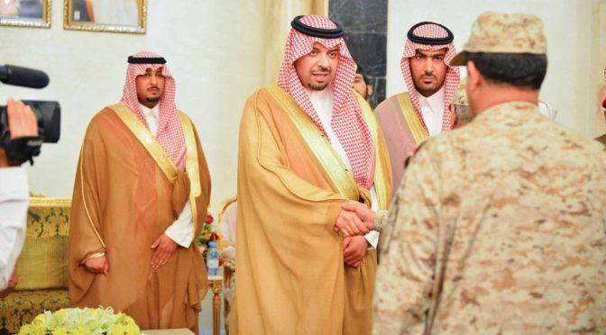 Губернатор Северной пограничной провинции принял присягу от имени наследного принца