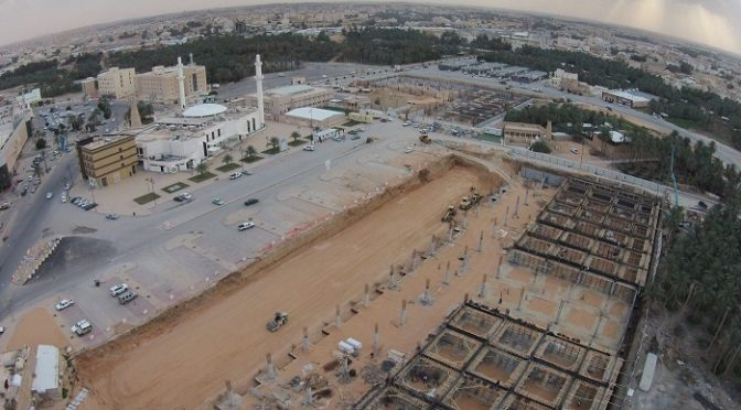Великолепный фотоснимок с воздуха, запечатлевыший праздничную молитву Ид аль-фитр на западе округа Унейза