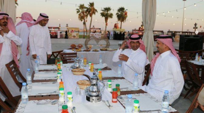 Совместный ифтар в исторической части Янбу был успешно организован саудийской молодёжью