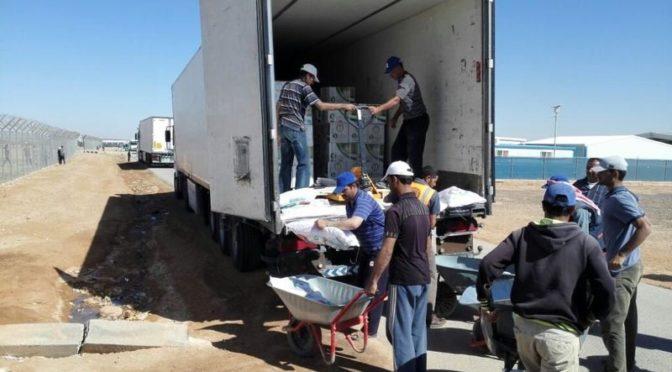 """Более 12 тыс.сирийских беженцев в Иордании воспользовались """"корзинами Рамадана"""""""