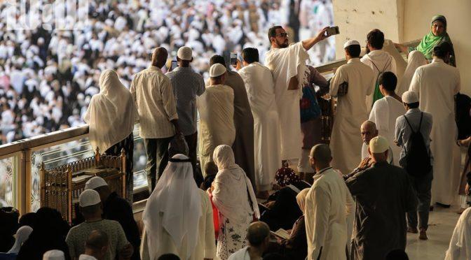 Духовная атмосфера в Запретной Мечети во время ифтара: мнгновение, которым наслаждается каждый мусульманин