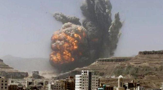 Коалиция нанесла ответный удар по ракетной бригаде в лагере Джабал Атан в провинции Сана