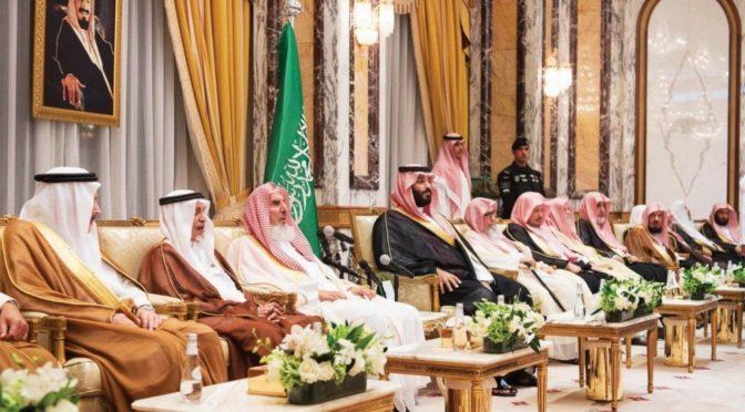 Король Салман получает поздравления лидеров иностранных держав в связи с избранием Мухаммада бин Салмана наследным принцем