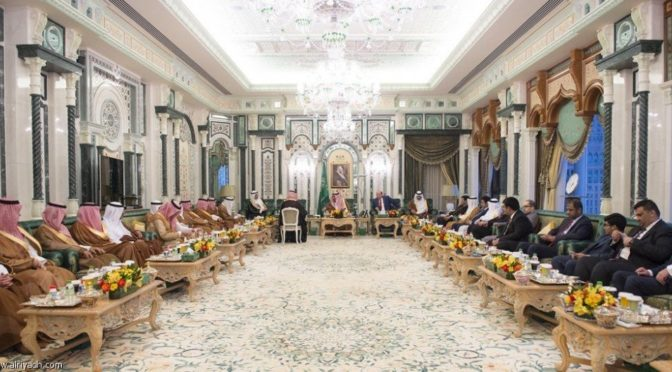 Служитель Двух Святынь принял президентов Пакистана и Йемена, а также председателя Совета безопасности Кувейта
