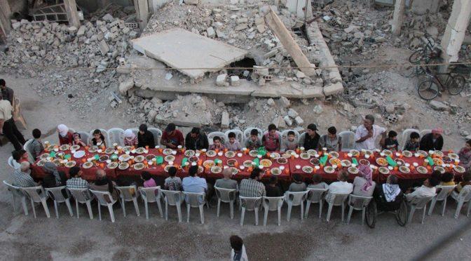 Ифтар среди руин