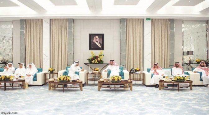 Служитель Двух Святынь принял Его Высочество наследного принца Абу Даби