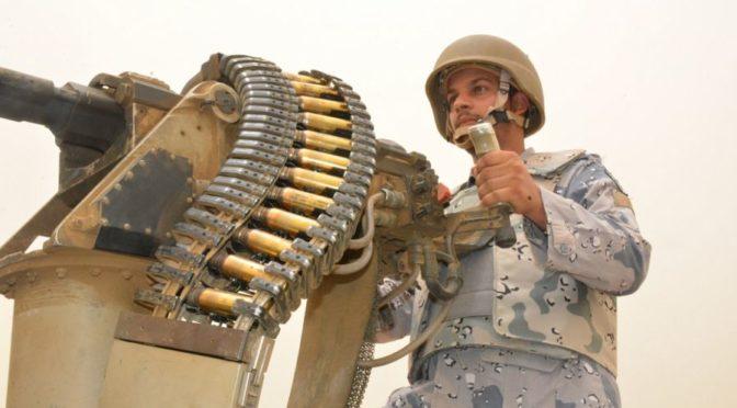 аль-Кахтани рассказывает посетителям  фестиваля «Хикаят Миск» о наших героях на южной границе
