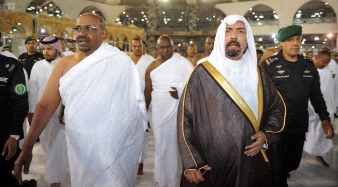 Служитель Двух Святынь принял Его Превосходительство президента Судана