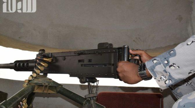 """Корреспондент """"Сабк"""" побывал совместно с Пограничными войсками на путях пресечения контрабанды наркотиков и оружия на йеменской границе"""
