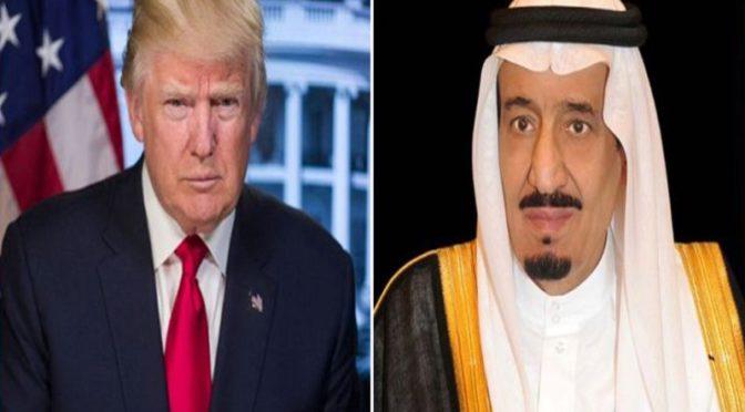 Служитель Двух Святынь сказал Д.Трампу: «Королевство подтверждает свою позицию о борьбе с терроризмом всеми средствами»