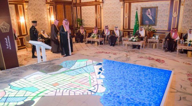 Служитель Двух Святынь ознакомился с проектом жилого и административного комплекса аль-Фейсалия в провинции Благородной Мекки