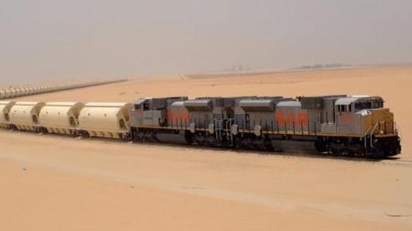 Саудийские железные дороги перевезли в первом полугодии 2017г. 4.06 млн.тонн.полезных ископаемых
