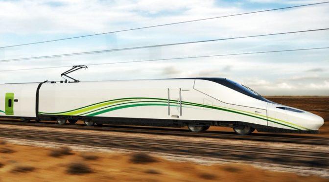 """Скоростной поезд """"Двух Святынь"""" впервые прибыл в Джидду"""