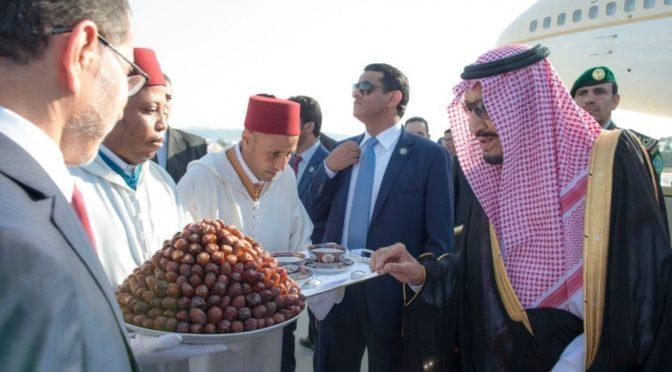 Служитель Двух Святынь прибыл в Марокко в частный отпуск