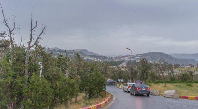 Дожди в округе Таиф