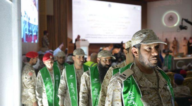 Губернатор провинции Асир посетил церемонию 1-ого выпуска студентов Университета им.Имама Мухаммада бин Сауда из числа военнослужащих-пограничников