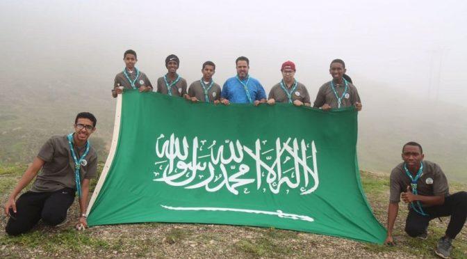 Скауты Саудии начали своё участие в летнем лагере продвинутой степени в султанате Оман
