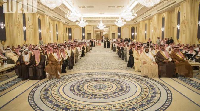 Заместитель Короля принял принцев, шейхов и группу подданных