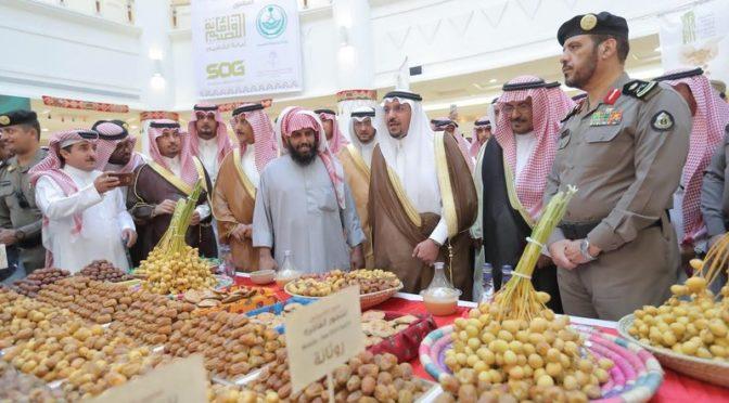 Губернатор провинции Касым посетил фестиваль фиников в Бурайде и наблюдал за ходом торговли