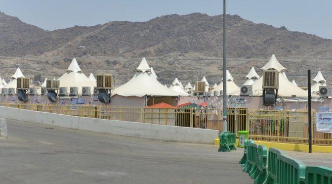 Самый большой в мире палаточный лагерь примет завтра паломников