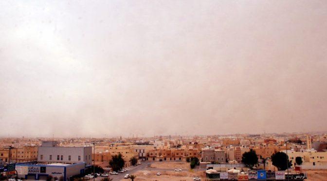 Пылевой фронт накрыл столицу