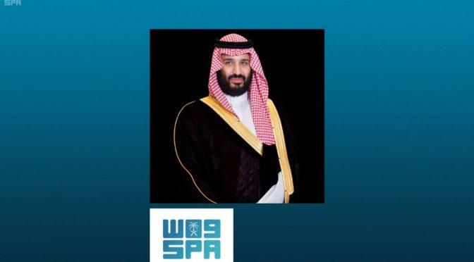 """Его Высочество наследный принц встретился с председателем партии """"Ливанские силы"""" Самир Джаъджаъ"""