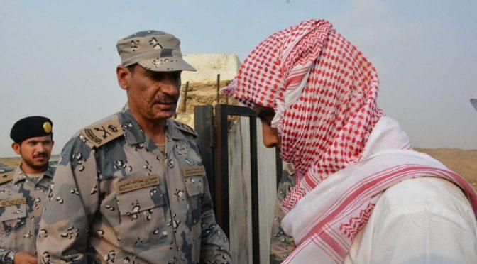 Жители административного центра ас-Сахи провинции Джазан скорбят по павшему мученником ефр. аль-Ханани