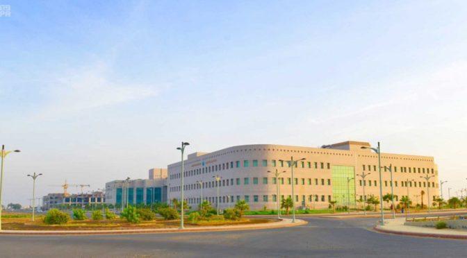 Факультет медицины и медицинских наук Университета Джазана переехал в новое помещение