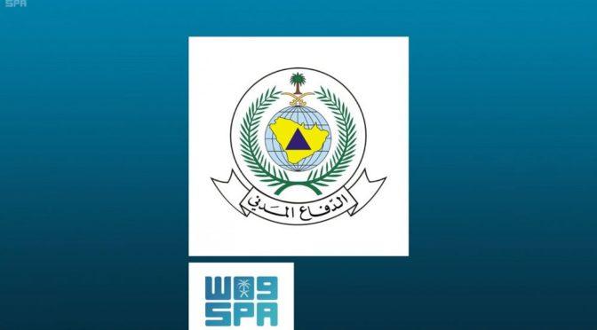 Гражданская оборона провинции Наджран сообдает о падении хусиитского снаряда посреди г.Наджран