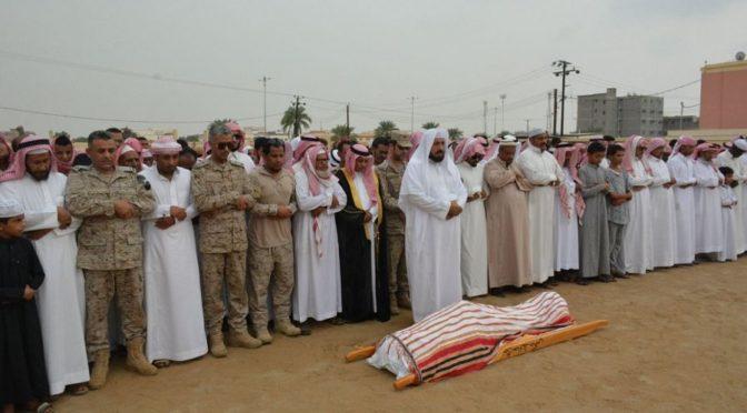 Группа молящихся в округе Самита исполнила похоронную молитву по павшему мученником срж.Ахмаду Хадади