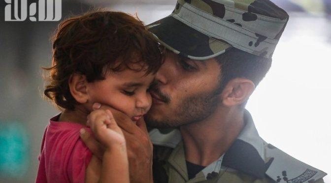 Гуманность и поддержка паломников силами безопасности у Джамаратов