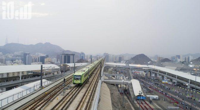 Эксклюзивный видеоролик портала «Сабк», документирующий успешную реализацию проекта поезда в местах паломничества