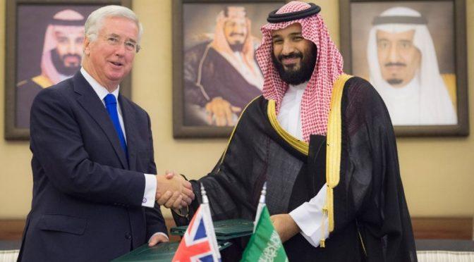 Наследный принц и министр обороны Британии рассмотрели двусторонние отношения и заключили соглашения в военной сфере и сфере безопасности