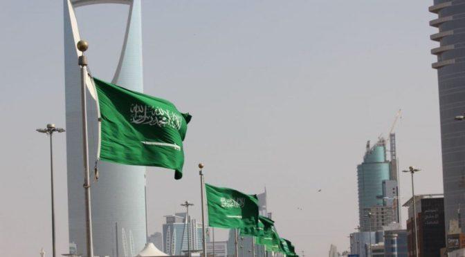 Эр-Рияд окрасился в зелёный цвет