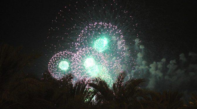 Феерверки освещают небо Королевства