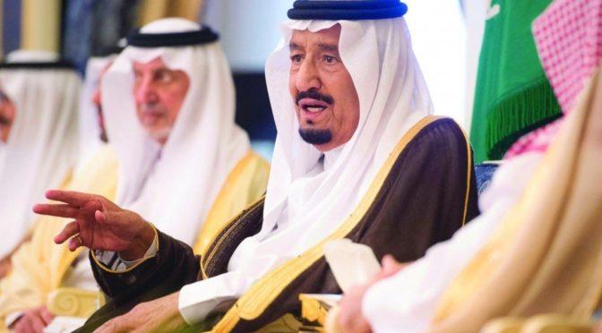 Король Салман написал в Twitter: «Королевство останется надёжной крепостью для всякого кто любит благое, любит религию и отечество»