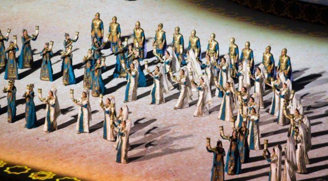 Открытие Азиатских игр в Ашхабаде