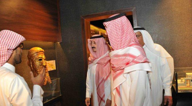 Принц Ахмад бин Фахд бин Салман: Ахса — город полный местных исторических достопримечательностей
