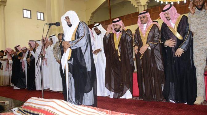 Заместитель губернатора провинции Джазан исполнил похоронную молитву по павшему мученником аль-Маджарши