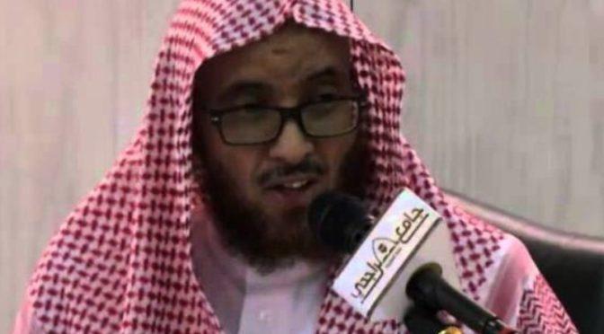 Момент смерти шейха Кураши в михрабе мечети в Мекке