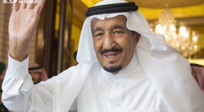 Служитель Двух Святынь принял Эмира государства Кувейт и дал торжественный обед в его честь